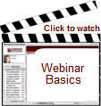 Watch a short presentation on Webinar Basics
